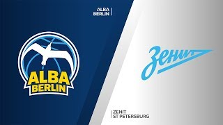 ALBA Berlin - Zenit St Petersburg Highlights | Turkish Airlines EuroLeague, RS Round 1