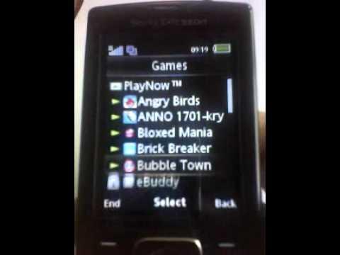 Sony Ericsson J108i Темы