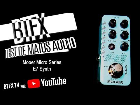 Test pédale Micro Series Mooer e7