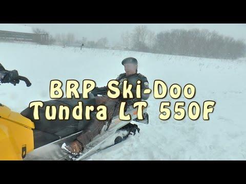 #Докатились тест драйв снегохода BRP Ski-Doo Tundra LT 550F
