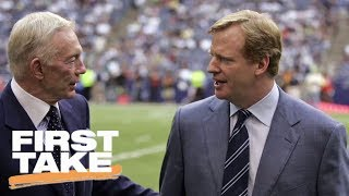 How Should Roger Goodell Handle Ezekiel Elliott Situation? | First Take | July 17, 2017 thumbnail