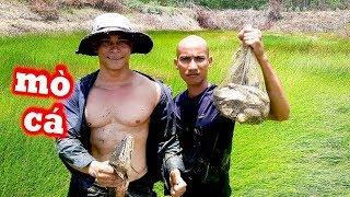 Lên Rừng Xuống Đầm Lầy Bắt Cá Về Làm Nồi Cá Hấp Khổng Lồ - Cuộc Sống Đậm Chất Quê | Team Đầu Trọc