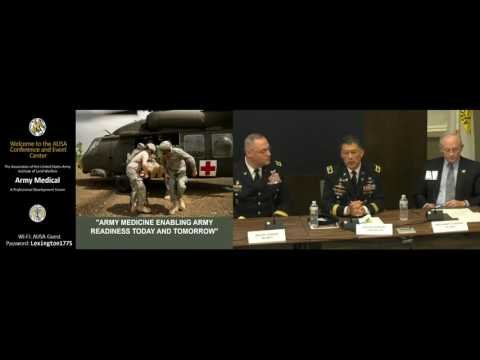 AUSA Medical Hot Topic 2016 - Panel 1 - Responsive Army Medicine Support to Global Operations