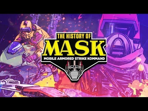 The History Of MASK: The 1985 Cartoon And Toyline