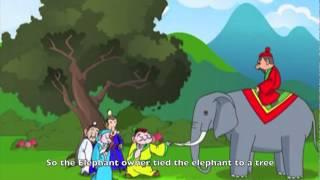 Tibetan Children Story: 4 Blind Men and an Elephant
