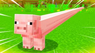 The LONGEST PIG in Minecraft!?