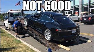 Tesla left me stranded:  Stuck at Toyota