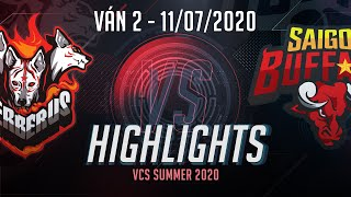 HighLights SGB vs CES [Ván 2][VCS 2020 Mùa Hè][11.07.2020]