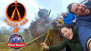 Riding WICKER MAN and everything else at Alton Towers! (2018)