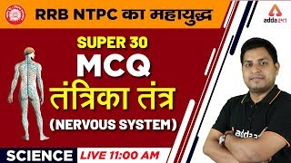 RRB NTPC 2019 | Science | MCQ On Nervous System