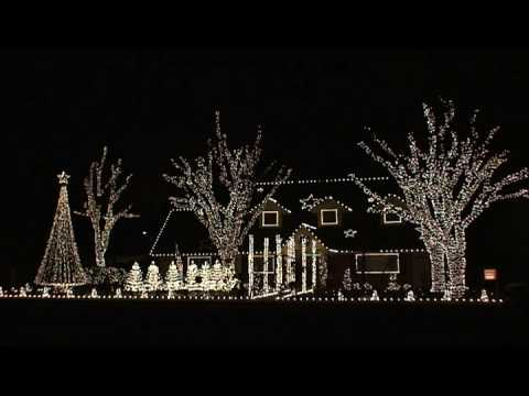 2008 hallums house of lights computerized christmas lights display - Computerized Christmas Lights