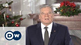 الرئيس الألماني: الخلافات لا تحل بالعنف والكراهية