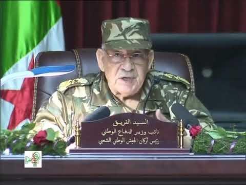 الفريق قايد صالح: سأحارب العملاء حتى النهاية ولن أترك البلاد للمفسدين