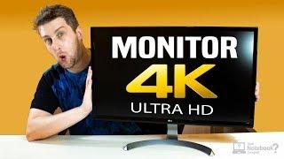 Monitor 4k barato externo para usar com Notebook dicas e Review LG UltraHD