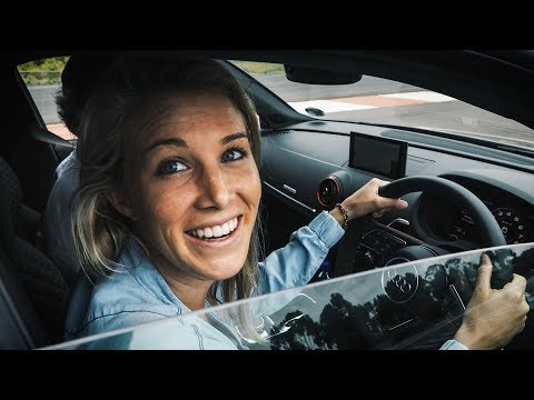 GIRLFRIEND DRIVES THE AUDI R8+