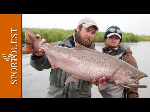 Non-stop Action Salmon Fly Fishing Alaska Episode 3