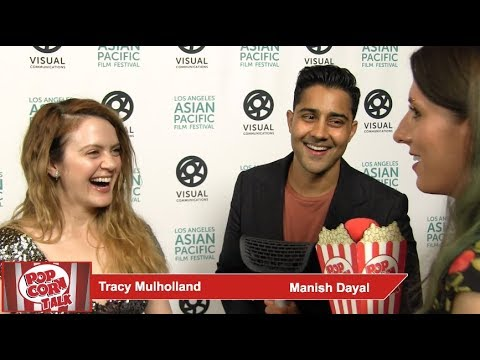 Manish Dayal and Tracy Mulholland Discussing 'Fifteen Years Later'