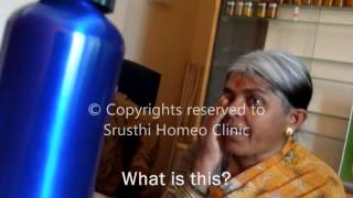 COMPLETE VISION LOSS treated by Dr. Chiranth through Classical Homeopathy