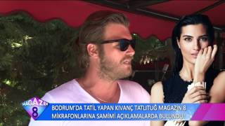 Bodrum'da Tatil Yapan Kıvanç Tatlıtuğ'dan Samimi Açıklamalar