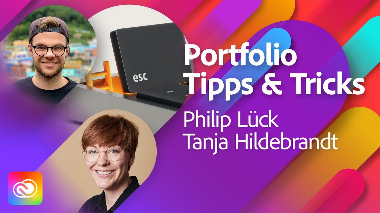 Wie funktioniert's: Portfolioaufbau und Entwicklung mit Philip Lück  Adobe Live