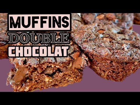 muffins-double-chocolat-minceur-sans-farine-et-sans-sucre-!