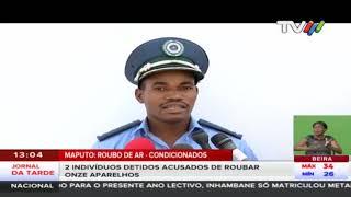 Roubo de condicionados: 2 Indivíduos detidos acusados de roubar onze aparelhos