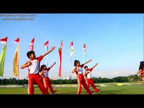 Senam Bugar Anak Indonesia-Peraga Siswa