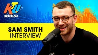 Sam Smith Talks Working w/ Mary J Blige,  New Album + Drake & Kendrick Lamar
