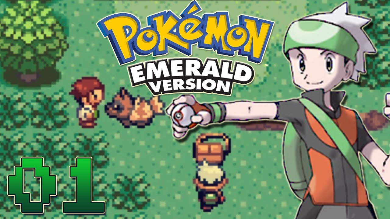 Lets play pokemon emerald part 1 the journey begins youtube lets play pokemon emerald part 1 the journey begins sciox Choice Image