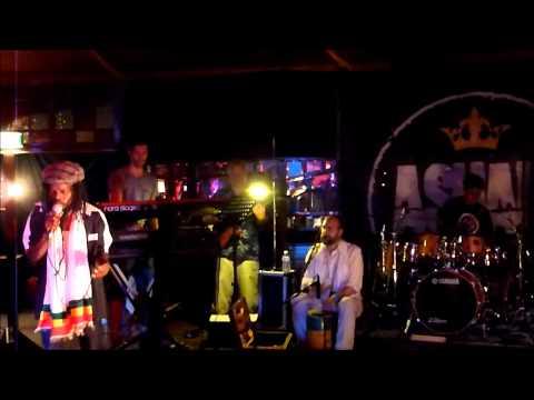Sylford Walker & Asham band live 'Lambsbread' @ Spiegeltent,Antwerpen,23-07-2013
