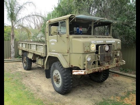 Billy Baird's Australian Army Truck