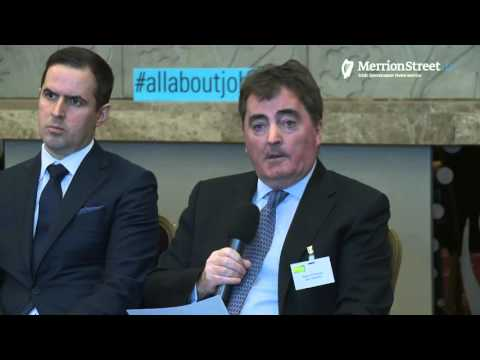 Live Stream of Taoiseach's Conversation with Business Leaders on Jobs