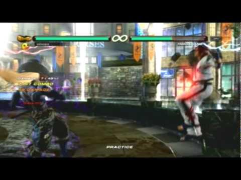 Tekken 6 Br Yoshimitsu Combo Exhibition Youtube