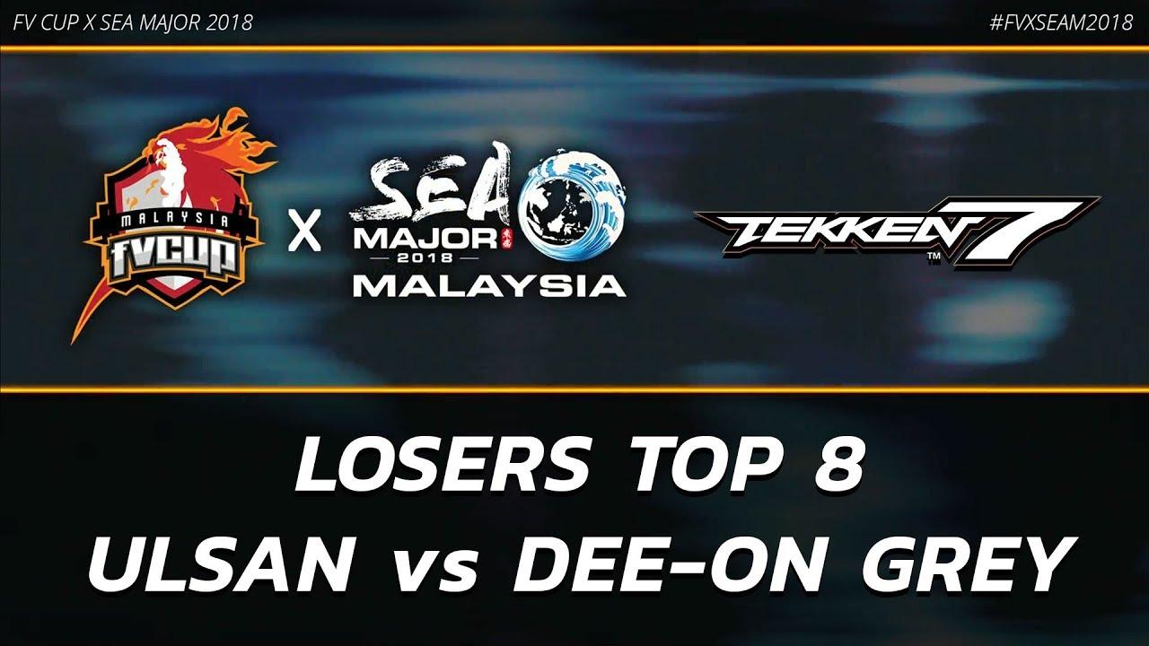 Top 8 Twt Malaysia Flash Vision X Southeast Asia Major 2018 Tekken Amino Amino