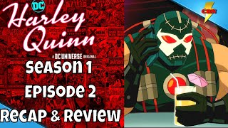 Harley Quinn Season 1 Episode 2 High Bar Review and Recap  - Harley Quinn 01x02