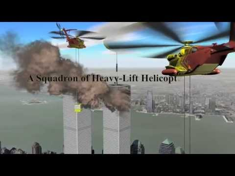 911 Rescue Animation for World Trade Centers