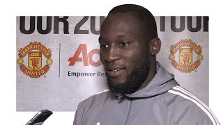 Romelu Lukaku Exclusive Interview - Jose Mourinhos Vision Persuaded Me To Join Manchester United