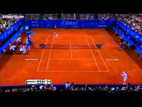 Backwards Tennis - Santiago Giraldo vs Carlos Berlocq