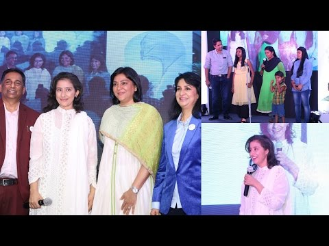 Manisha Koirala Attened Finale Of Nargis Dutt Foundation Social Cause Campain My Hair For Cancer