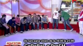 SUPER FAZE!! CRBL si Cabral darama decorul la AcasaTV!!! :)))