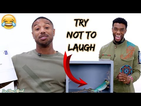 Black Panther Cast Play Funny Games (Part-2) - Try Not To Laugh 2018