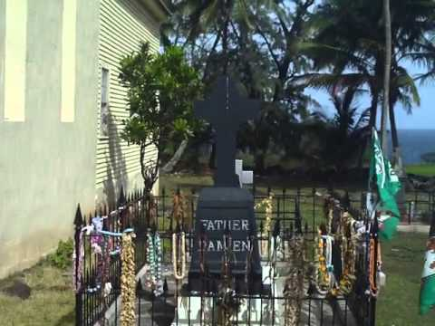 Grave of Father or Saint Damien