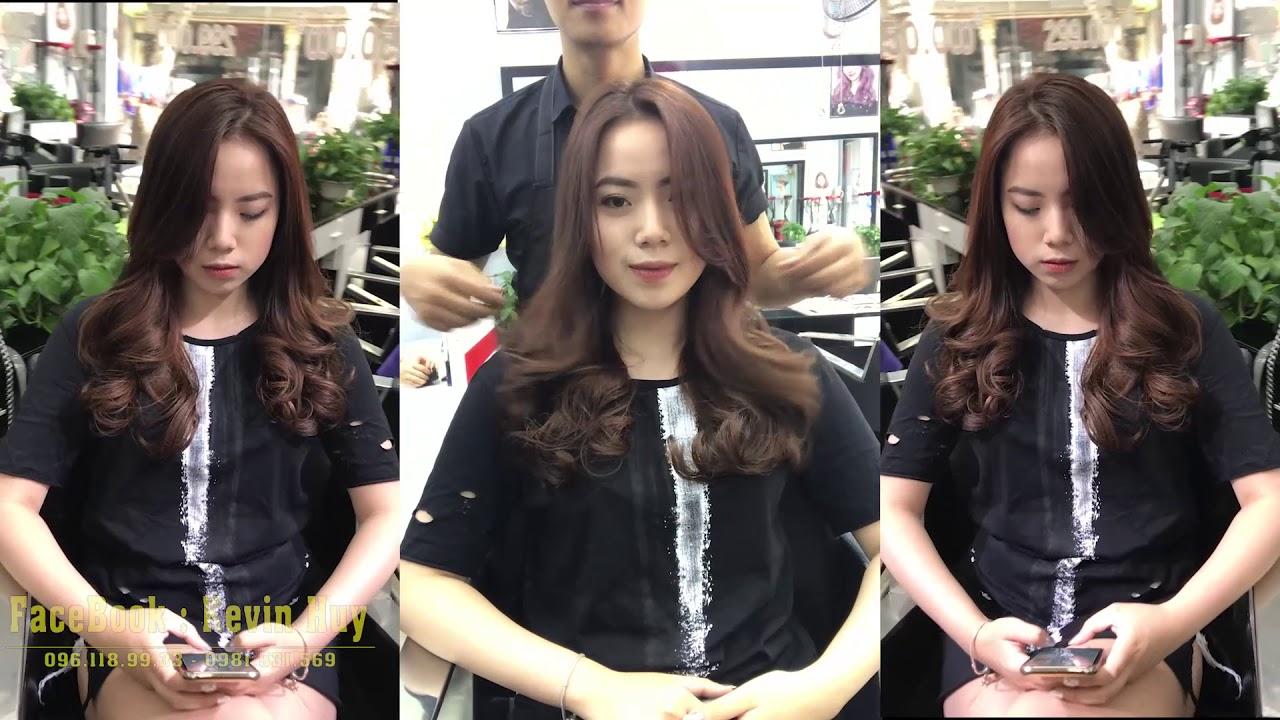 KeVin Huy    Mẫu Tóc Uốn Xoăn Sóng Lơi Hàn Quốc – HUY LUXURY   Tổng hợp những thông tin nói về kiểu tóc nam xoăn nhẹ chính xác