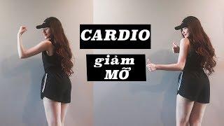 CARDIO ĐỐT 350CAL - BÀI GIẢM MỠ THẦN TỐC TẠI NHÀ | CARDIO TO BURN FAT FAST AT HOME - 350CAL thumbnail