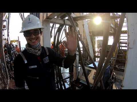 Offshore Drilling Rig: Sapura T-18 (GoPro Hero 7 Black) - Napon's Farewell Hitch