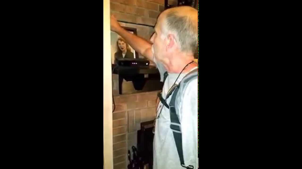 hide wiring on a brick fireplace youtube