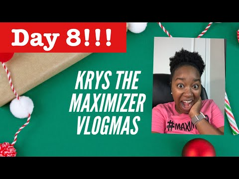 Very Productive Day From Home in Bed! Vlogmas Day 8!|Krys the Maximizer thumbnail