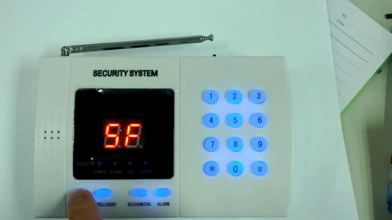Security System What Alarm