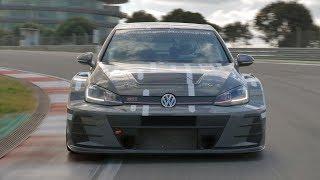 Volkswagen Golf GTI TCR | Driving, Interior, Exterior (Race Car)
