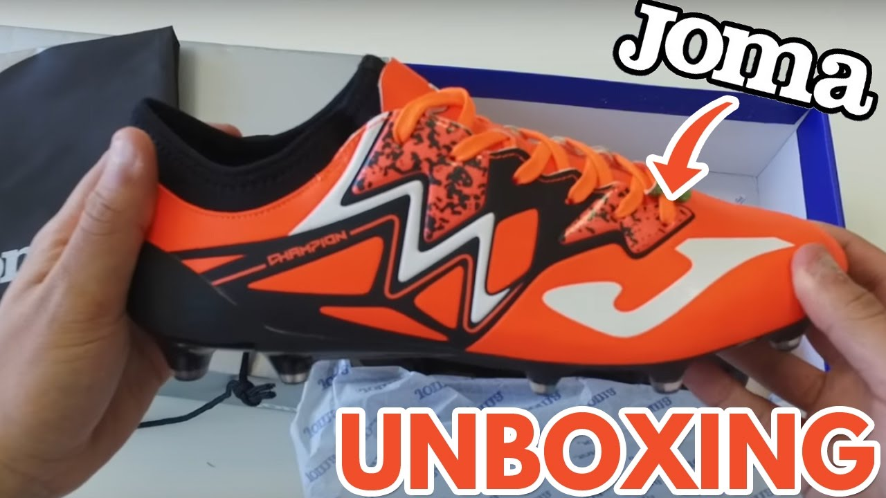 the latest 75626 a90a6 UNBOXING - Joma Champion Max